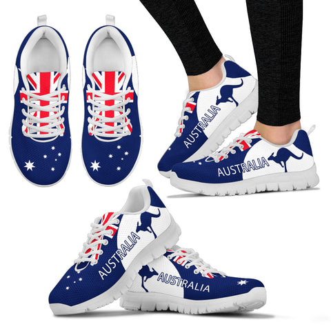 Image of Australia Shoes Flag Color Sport Version Sole White