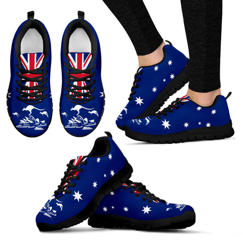 Australia Flag Kangaroo Beautiful Sneakers