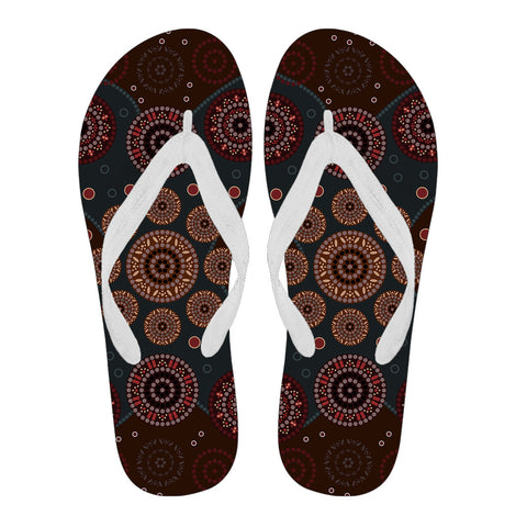 Image of Australia Flip Flops Aboriginal 02 TH1