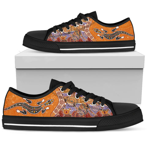 Image of Australia Low Top Shoes - Australia Pattern - BN14