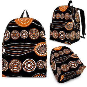 Color Of Aboriginal Backpack