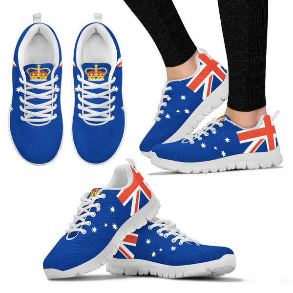 1stAustralia Sneakers - Aus Flag Shoes Victoria Flag And Coat Of Arms - Unisex - Nn6