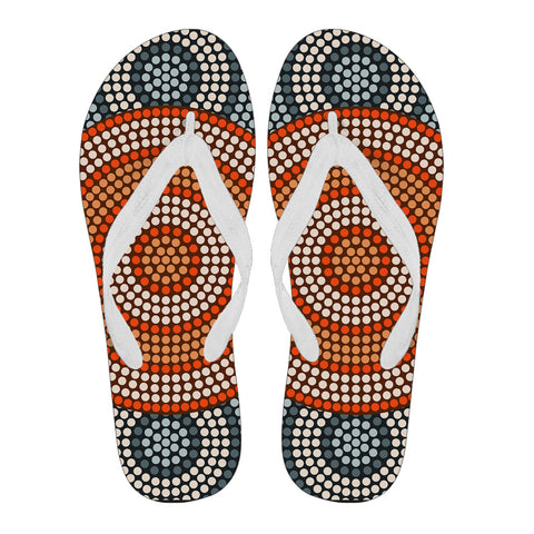Image of Australia Flip Flops Aboriginal 05 TH1
