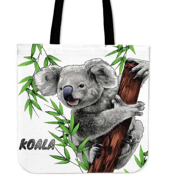 1stAustralia Tote Bag - Koala Bag Painting - 16 x 16 Inches