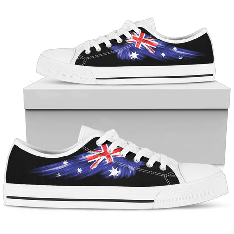 Australia Flag Wing Low Top Shoes