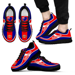 Sneaker, Australia sneaker, Australia flag color sneakers, Australia sport, shoes,