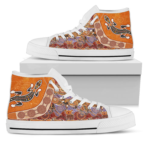 Australia High Top Shoes - Australia Pattern - BN14