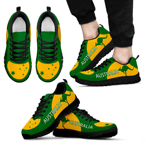 Australia Shoes Green And Yellow Sport Version Th9