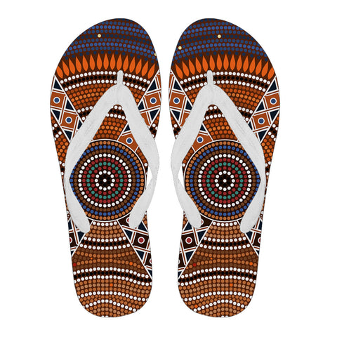 Image of Australia Flip Flops Aboriginal 01 TH1
