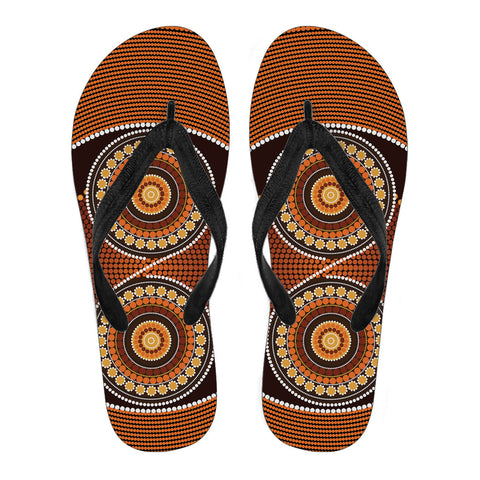 Image of Australia Flip Flops Aboriginal 09 TH1