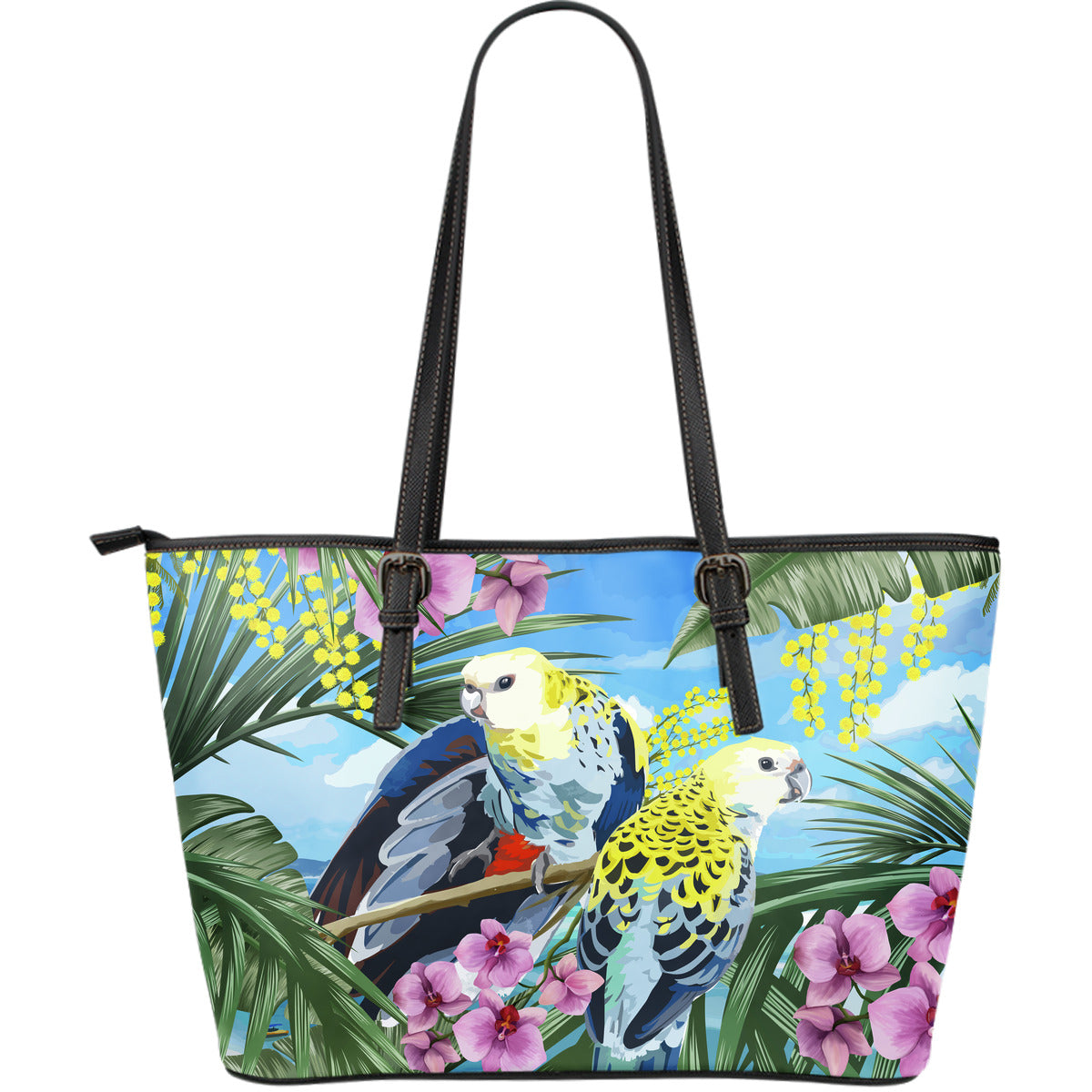 Australia Leather Tote Bags Pale Headed Rosella