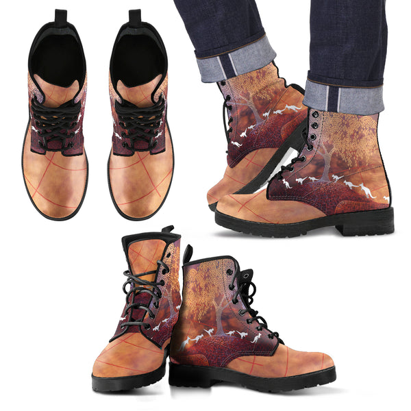 Kangaroos For Men/Women Leather Boots