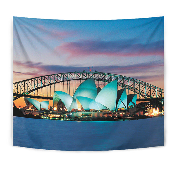 Australia Opera Sydney Night Tapestry