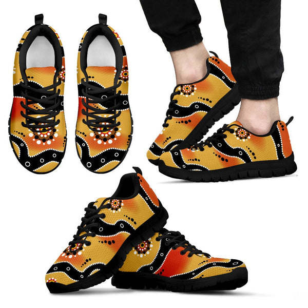 Australia Aboriginal MenS / WomenS Sneakers (Shoes)02 Nn8 1ST
