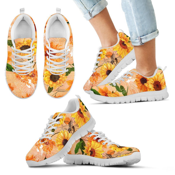 1stAustralia Sneakers - Sunflowers Shoes Painting - Unisex - Nn9