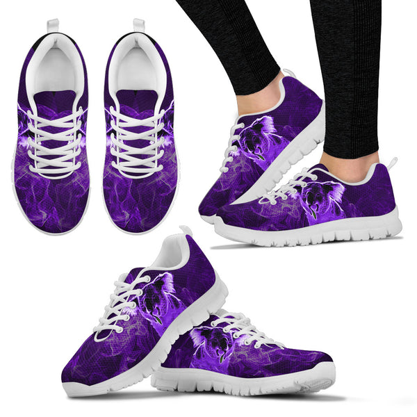 Australia Koala Running Shoes Smoke Purple Version Sole White