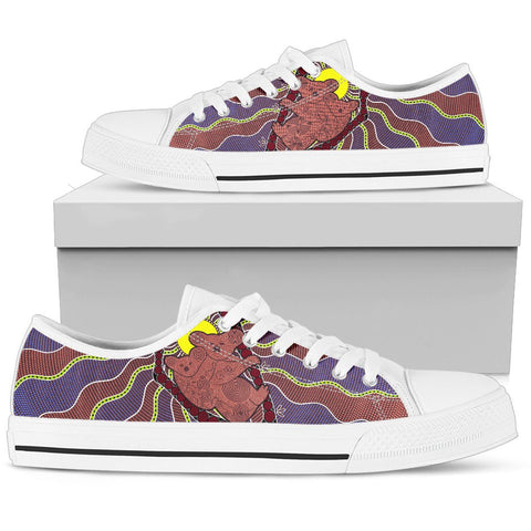 Australia Shoe (Low Top) - Aboriginal Koala