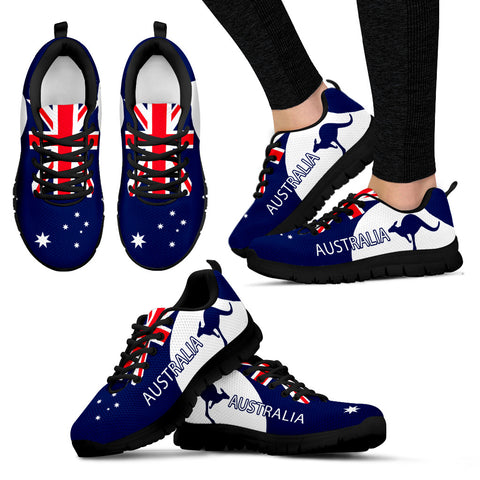 Australia Shoes Flag Color Sport Version