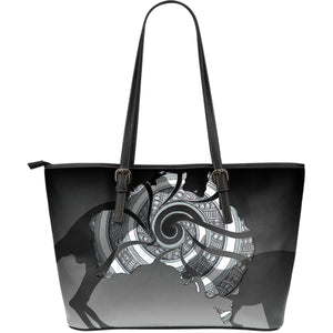 Australia Leather Tote Bags Kangaroo Large