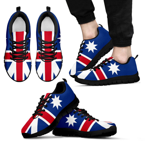 1stAustralia Sneakers - Aus Flag Shoes Aussie Star - Unisex - Th9