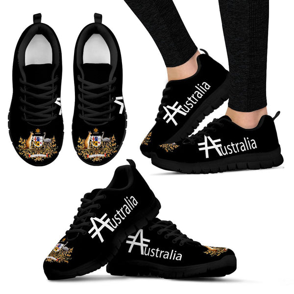 1stAustralia Sneakers - Australian Coat Of Arms Shoes Australia - Unisex - Nn8