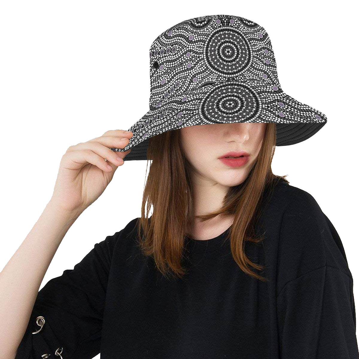 Australia Aboriginal Bucket Hat 04 TH1