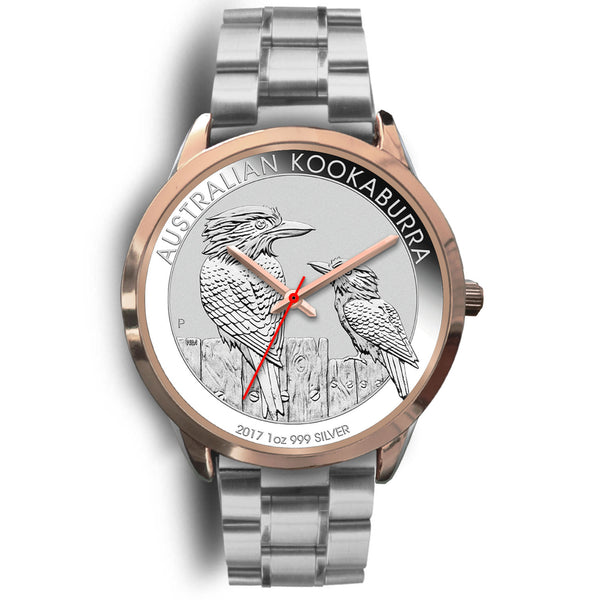 1stAustralia Watch - Kookaburra Watch - Gold