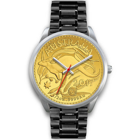 Australia Silver Watch Kangaroo Gold Coin