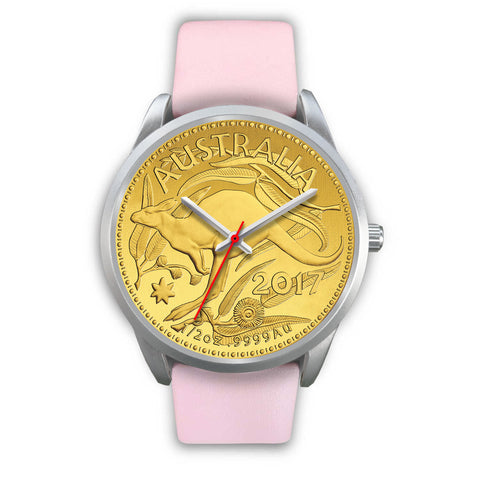 Image of Australia Silver Watch Kangaroo Gold Coin