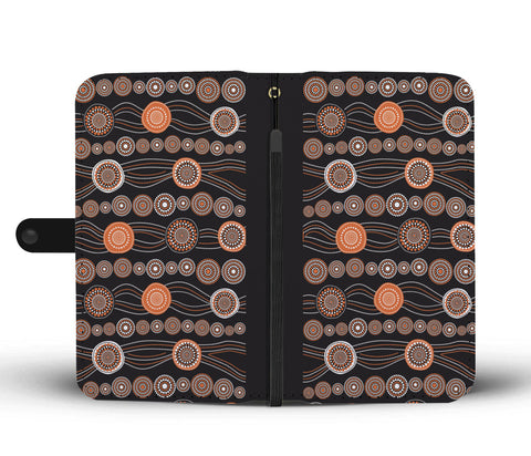 Australia Wallet Phone Cases Australia Pattern Style