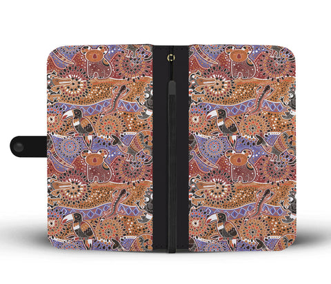 Australia Wallet Phone Cases Animal Australia Pattern