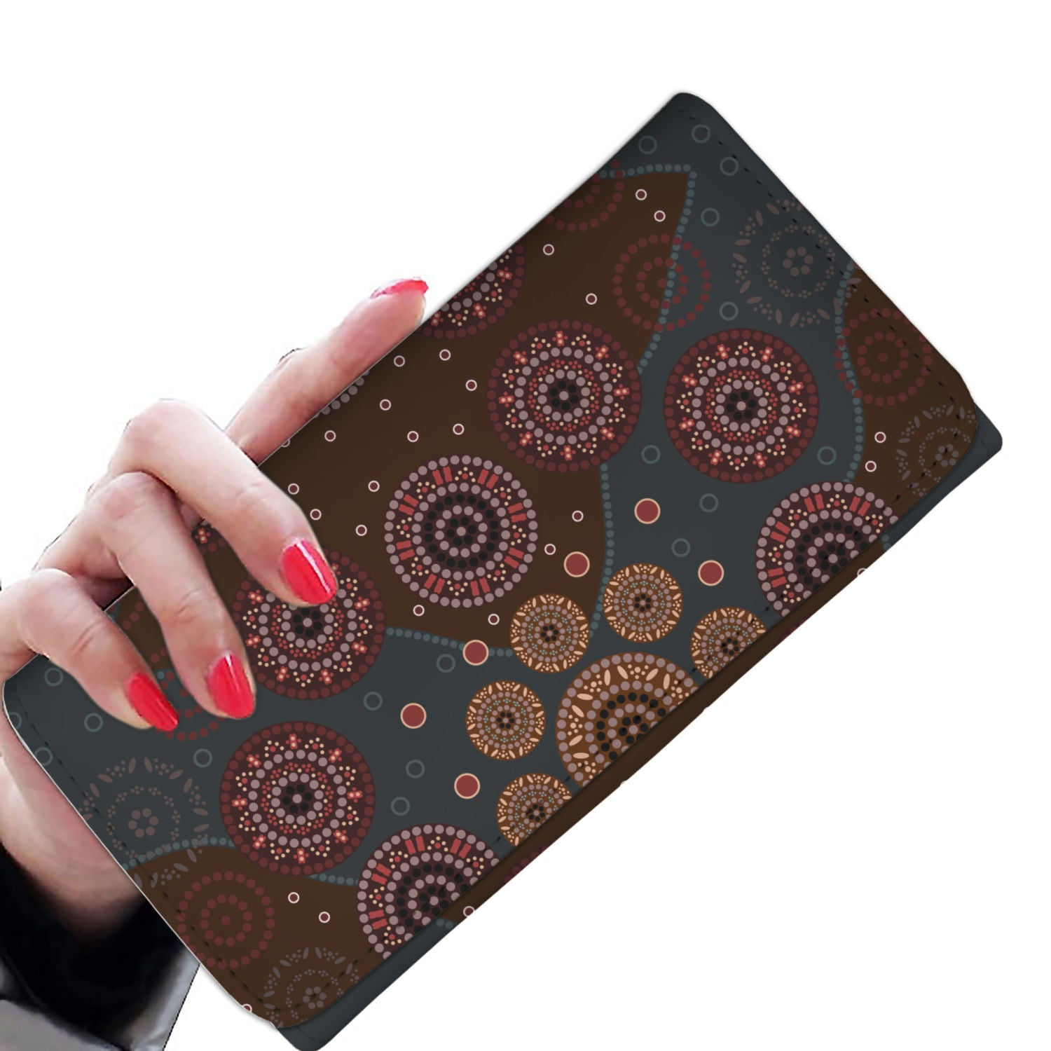 Australia Aboriginal Womens Wallet