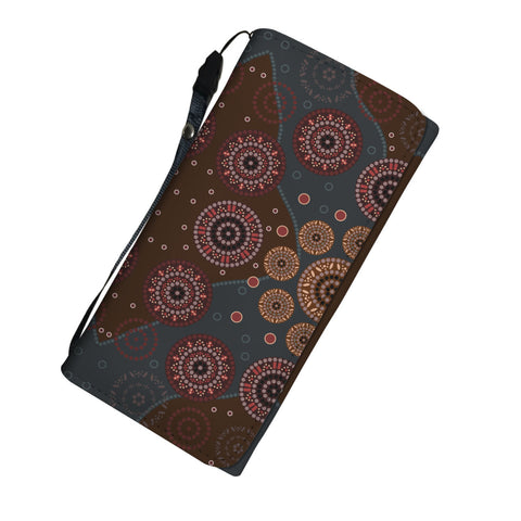 Australia Pattern Womens Wallet