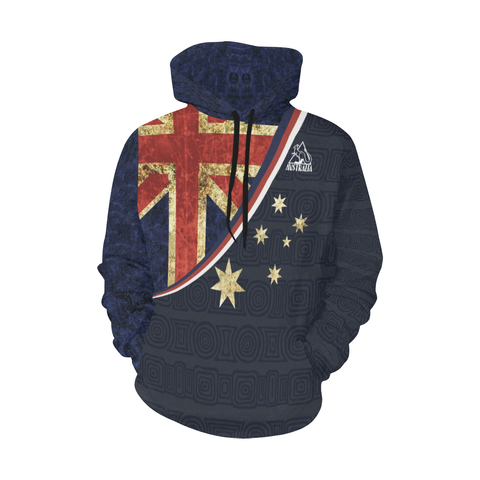 Image of Love Australia - AUSH1 All Over Print Hoodie - MRH