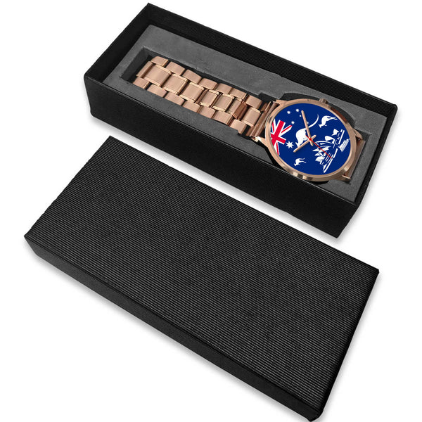 Australia Flag Kangaroo And Sydney Opera Royal Watch