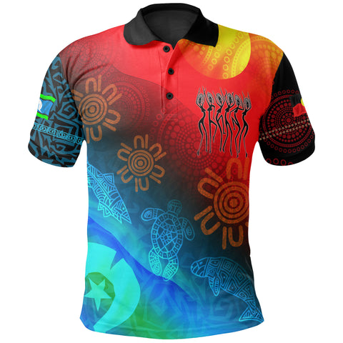 1stAustralia Naidoc Polo Shirts - Proud To Be