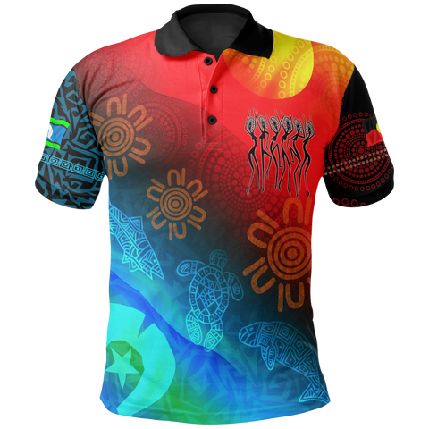 1stAustralia Naidoc Kid Polo Shirt - Proud To Be