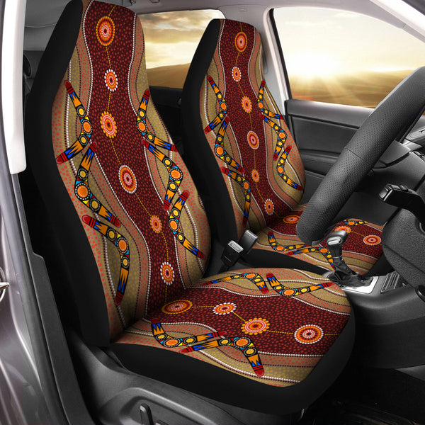 Australia Car Seat Covers Unisersal Fit Boomerang