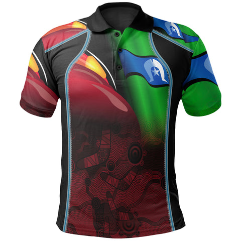 1stAustralia Aboriginal Polo Shirt, Naidoc  Week
