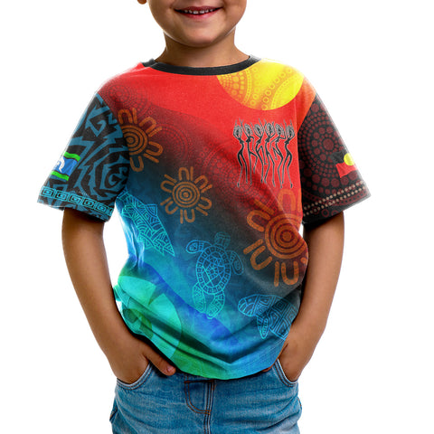 1stAustralia Naidoc Kid T-shirt - Proud To Be (For Kid)