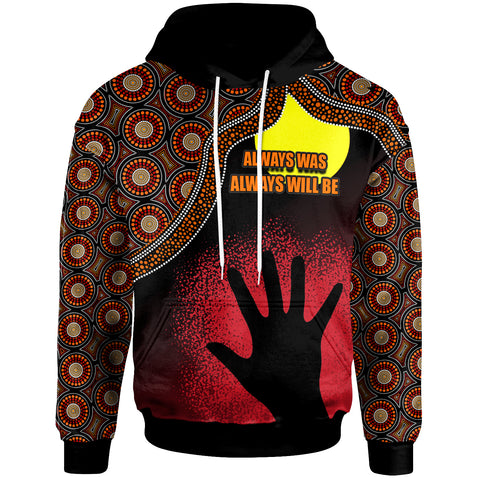 1stAustralia Naidoc Hoodie, Naidoc Week 2020 Always Was, Always Will Be With A Hand - BN09