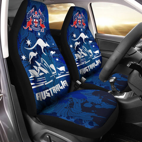 Australia Car Seat Covers Unisersal Fit Aussie Vibes