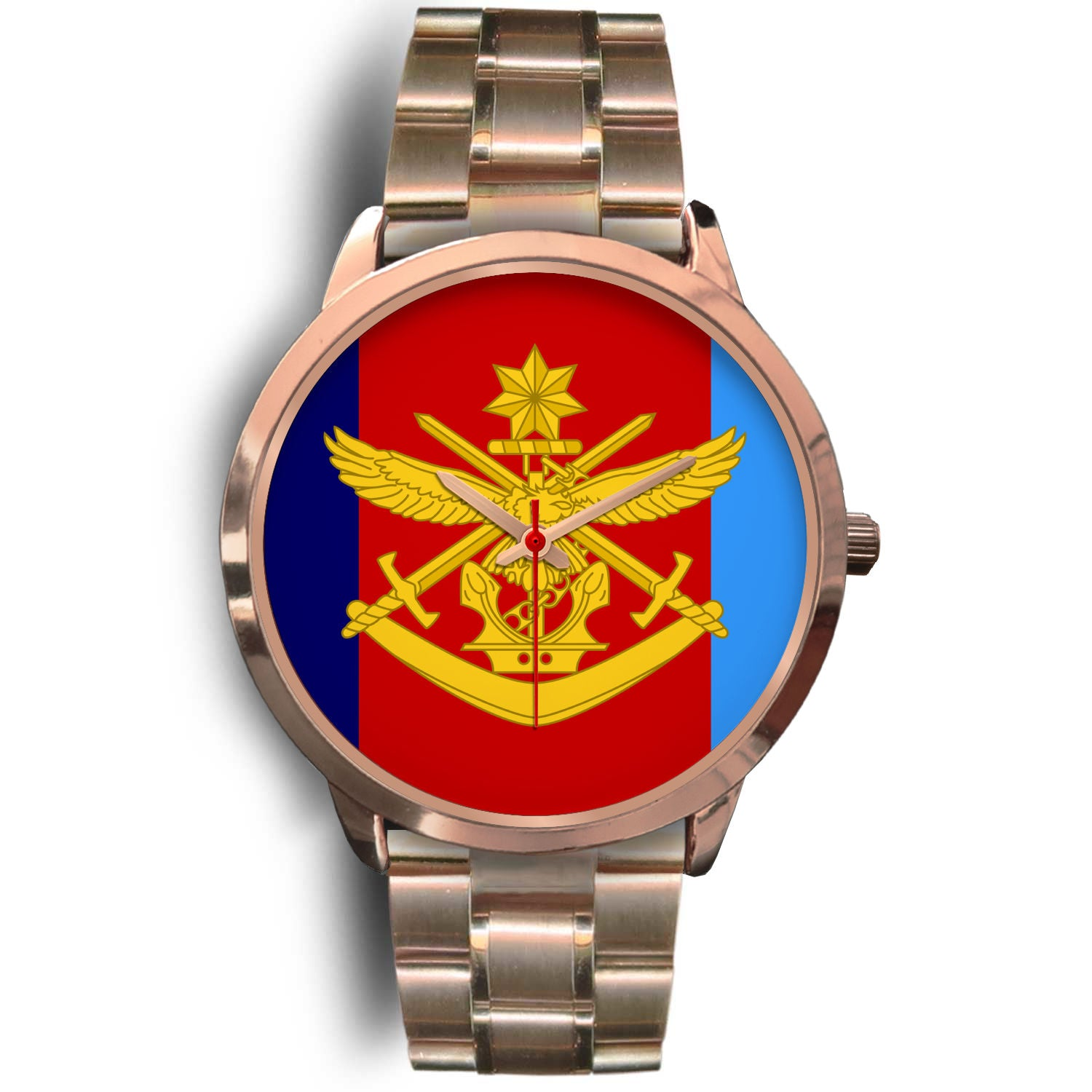 Australian Defence Force Rose Gold Watch - MRE