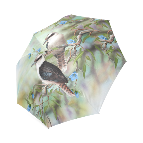Australia Foldable Umbrella Kookaburra Birds