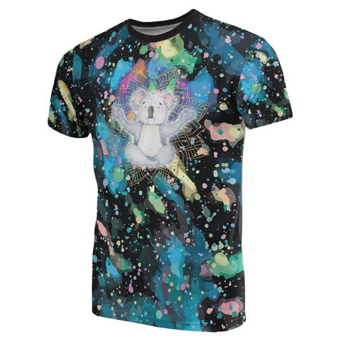 Meditating Koala All Over Print T-shirt - MRH