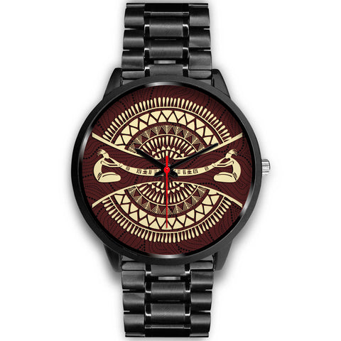 1stAustralia Watch - Didgeridoo Australia Watch - Black