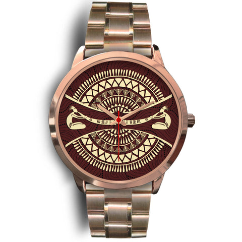 1stAustralia Watch - Didgeridoo Australia Watch Australian Coat Of Arms - Unisex
