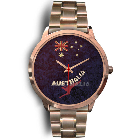 1stAustralia Watch - Aus Flag Watch Vintage Kangaroo - Unisex