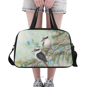 Australia Weekend Travel Bag Kookaburra Bluebell