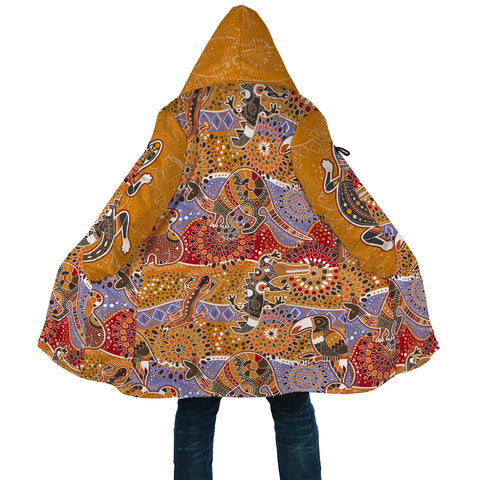 Image of Australian Cloak - Australia Pattern - MRP01